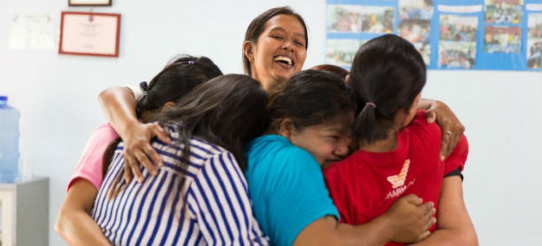 A Tailândia foi um dos primeiros países do mundo a oferecer tratamento antiretroviral gratuito para grávidas com HIV.Foto: Uniads/Watsamon Tri-yasakda