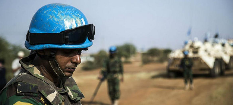 Soldado da Minusma. Foto: Minusma/Harandane Dicko