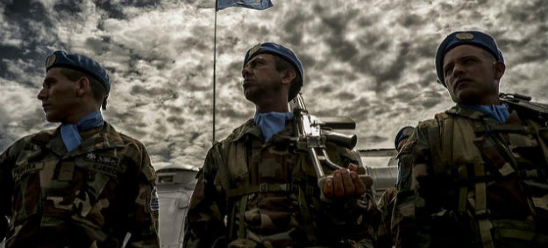Soldados de paz da Minustah. Foto: Minustah/Logan Abassi