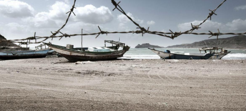 Até meados de novembro, 105.971 pessoas fizeram o tipo de travessia principalmente através do Golfo de Áden.Foto: ONU/Jacob Zocherman