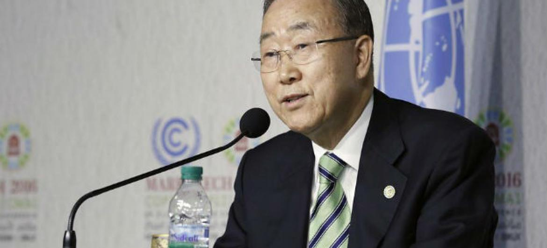 Ban Ki-moon Foto: ONU/Evan Schneider