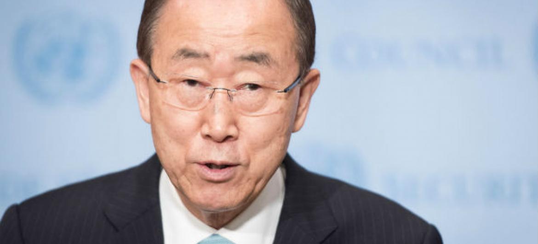 Secretário-geral da ONU, Ban Ki-moon. Foto: ONU//Mark Garten