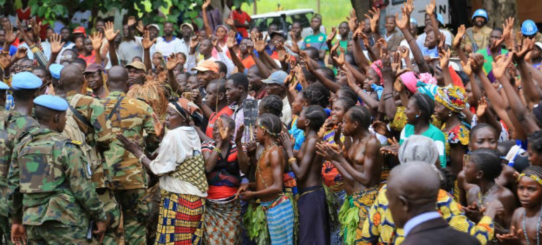O Plano de Resposta Humanitária da ONU para atender a República Centro-Africana em 2017 tem o valor de US$ 400 milhões, necessários para ajudar 1,6 milhão de civis. Foto: ONU/Nektarios Markogiannis