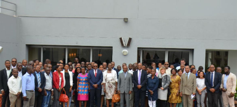 Participantes do evento sobre comércio internacional em Moçambique. Foto: Rádio ONU/Ouri Pota