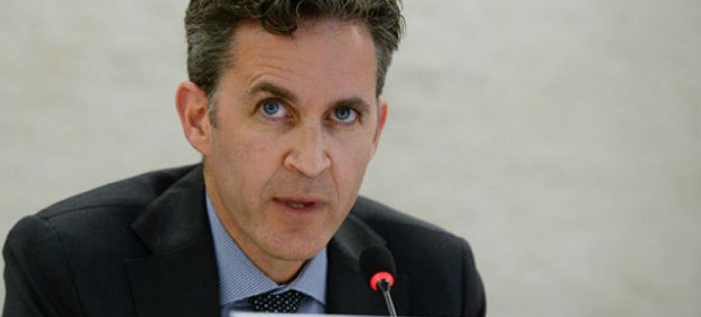 David Kaye, relator especial da ONU sobre o direito à liberdade de opinião e expressão. Foto: ONU/Jean-Marc Ferré.