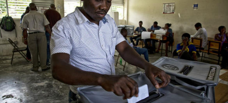 Eleições no Haiti. Foto: ONU Minustah/Igor Rugwiza