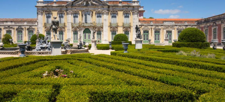 Palácio de Queluz, em Portugal. Foto: Jeff Alves de Lima (cortesia)