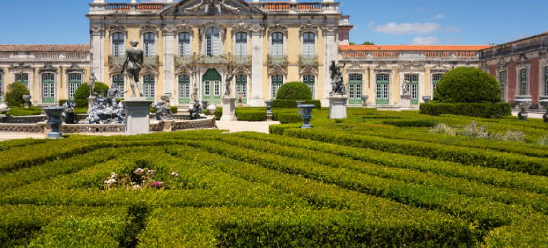 Palácio de Queluz, Portugal. Foto: Cortesia de Jeff Alves de Lima