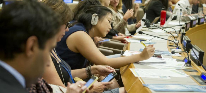 Um dos maiores desafios dos jovens atualmente é o desemprego. Foto: ONU/Loey Felipe