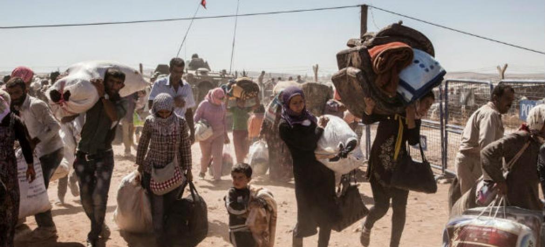 Crise global de refugiados. Foto: Acnur/Ivor Prickett