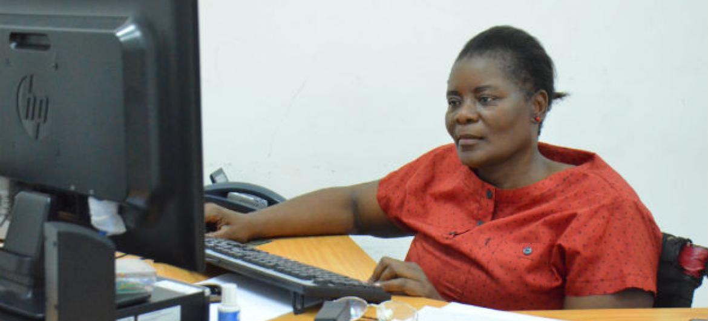 Eufémia Amela em Moçambique. Foto: Ouri Pota/ONU