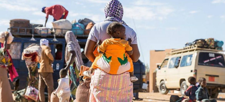 Mais de 105 mil migrantes fazem a travessia para o Iémen. Foto: OIM