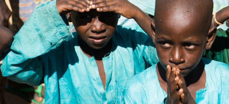 A desnutrição continua a atingir níveis críticos na região, especialmente no Chade e no nordeste da Nigéria, onde a incidência global de desnutrição agudo é de 30%, o dobro do considerado limiar de emergência. Foto: Ocha/Federica Gabellini