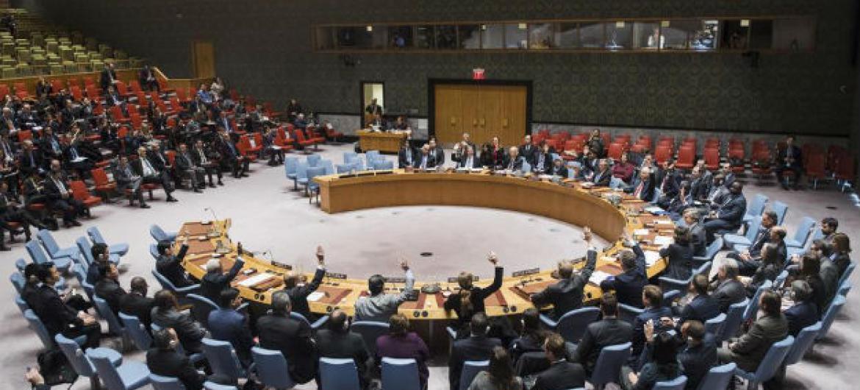Resolução sobre a cidade síria de Alepoaprovada por unanimidade no Conselho de Segurança. Foto: ONU/Amanda Voisard