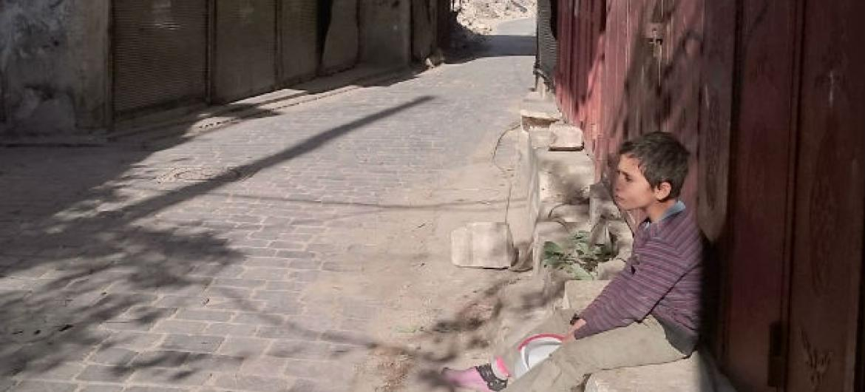 As equipes de ajuda humanitária ainda não têm acesso às áreas controladas pela oposição na região leste de Alepo. Foto: Unicef/Zayat