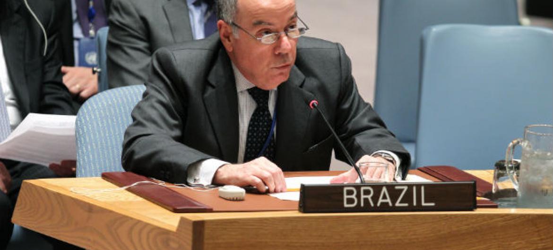 Mauro Vieira, embaixador do Brasil na ONU. Foto: ONU/Devra Berkowitz