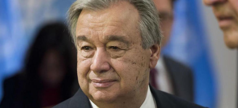 Secretário-geral da ONU, António Guterres. Foto: ONU/Mark Garten