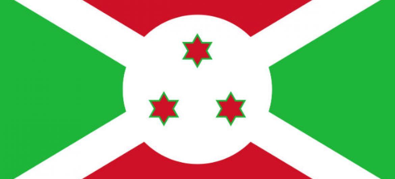 Bandeira do Burundi.