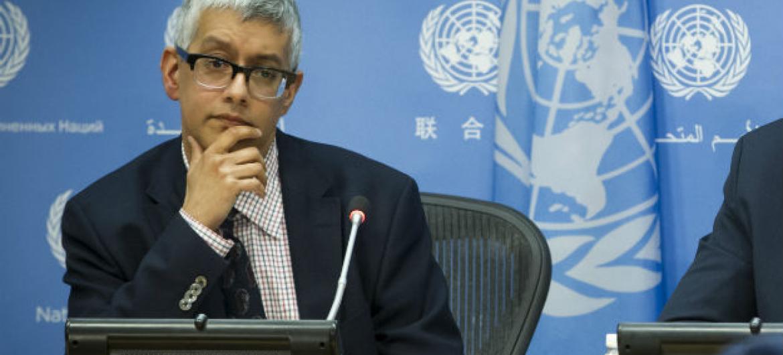 Farhan Haq, porta-voz do secretário-geral, António Guterres. Foto: ONU/Loey Felipe