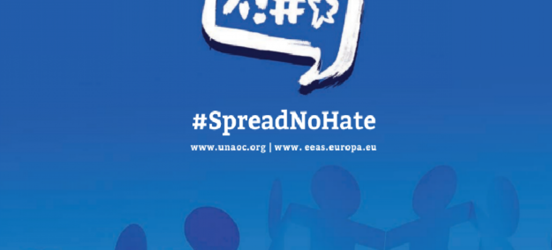 Campanha promove hashtag nas redes sociais. Imagem: Aliança das Civilizações.