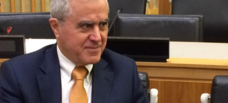 Embaixador Álvaro Mendonça e Moura. Foto: ONU News