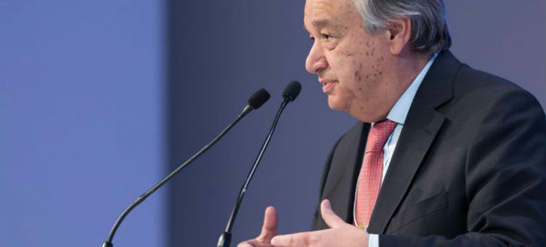 Secretário-geral da ONU, António Guterres. Foto: ONU