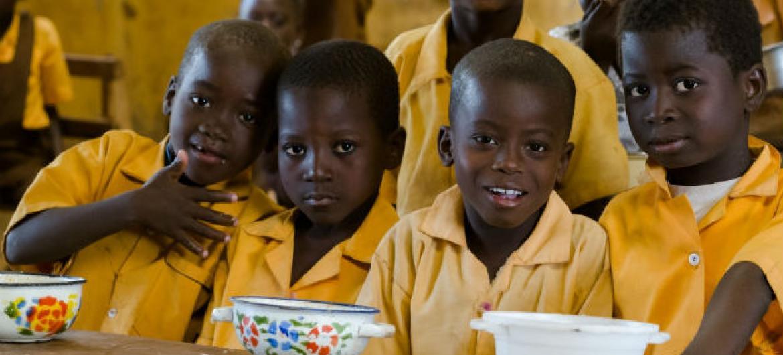 Crianças em escola no Mali. Foto: PMA