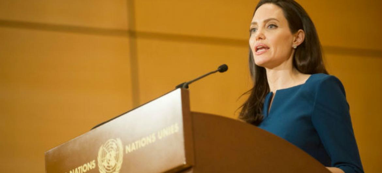 Angelina Jolie. Foto: Acnur/Mark Henley