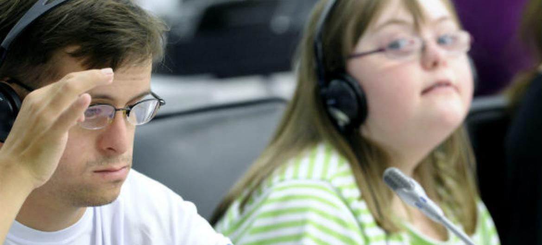 Dia Mundial da Síndrome de Down. Foto: ONU/Evan Schneider