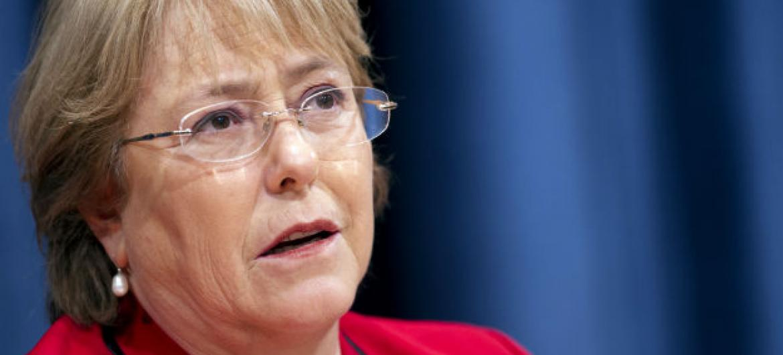 Michelle Bachelet. Foto: ONU/Mark Garten (arquivo)