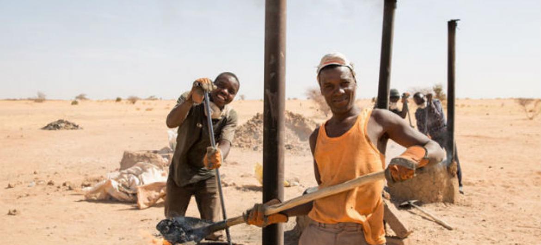 O programa chamado Mecanismo de Resposta e Recurso do Migrante visa dar um contributo à melhora da segurança e da estabilidade no Níger. Foto: OIM