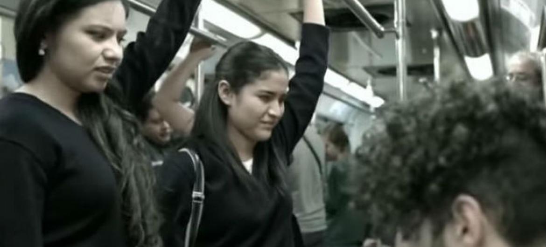 Imagem de vídeo da campanha.