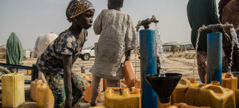 Na Somália, o número de pessoas que precisam de acesso à água, saneamento e higiene deve passar de 3,3 milhões para 4,5 milhões nas próximas semanas. Foto:Unicef/Abubakar