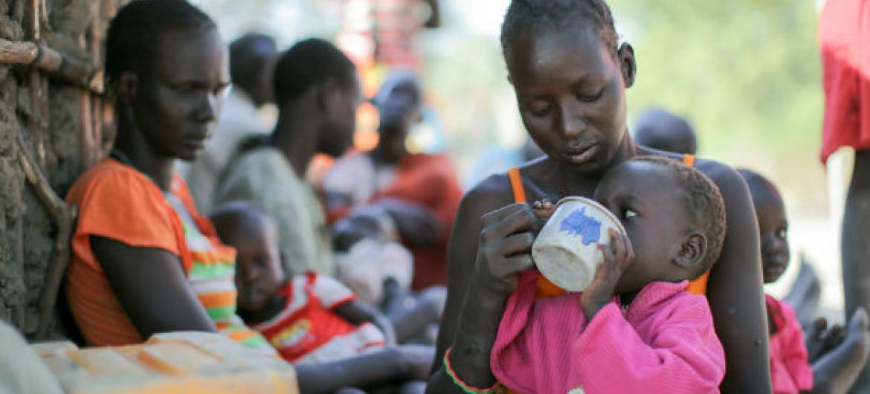 Fome no Sudão do Sul. Foto: Acnur/Rocco Nuri