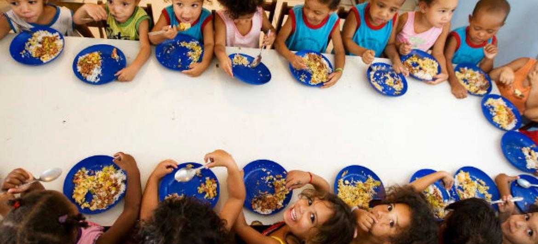 Erradicar a fome é o segundo Objetivo de Desenvolvimento Sustentável. Foto: FAO