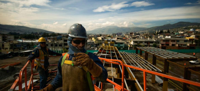 Investimento da América Latina e Caribe em infraestrutura e menor do que a média global. Foto: Banco Mundial