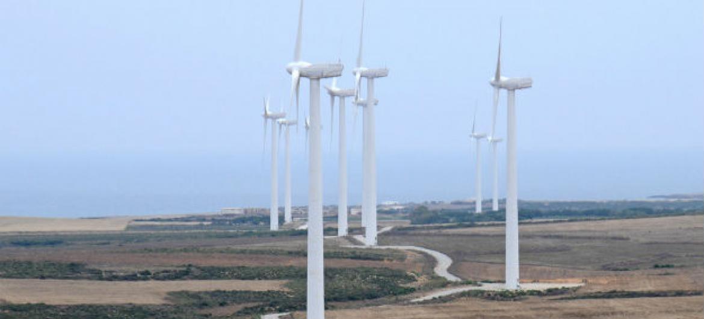 Turbinas eólicas. Foto: Banco Mundial/Dana Smillie