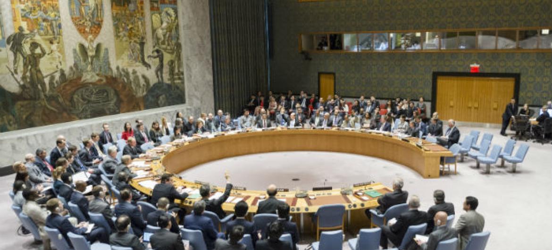 Votação no Conselho de Segurança nesta quarta-feira. Foto: ONU/Rick Bajornas