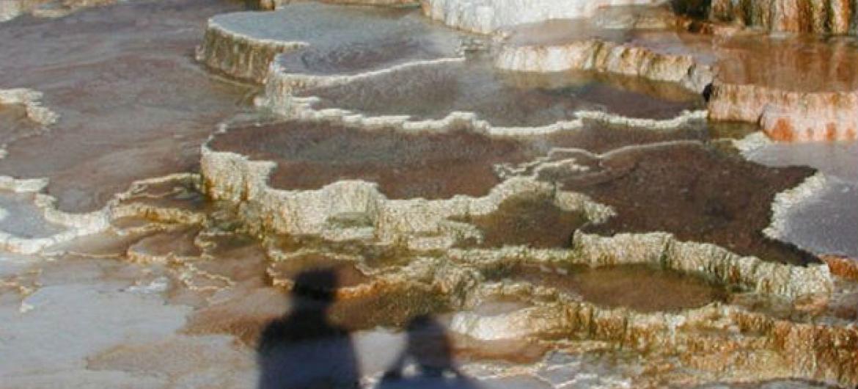 Termas quentes no Parque Nacional Yellowstone, nos Estados Unidos. Foto: ONU/EFP