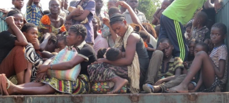 Refugiados congoleses em Angola. Foto: Acnur/Pumla Rulashe.