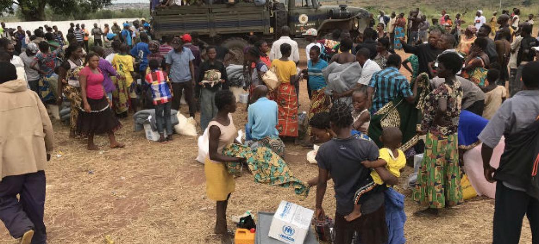 Refugiados congoleses em Angola. Foto: Arquivo pessoal Paolo Balladelli