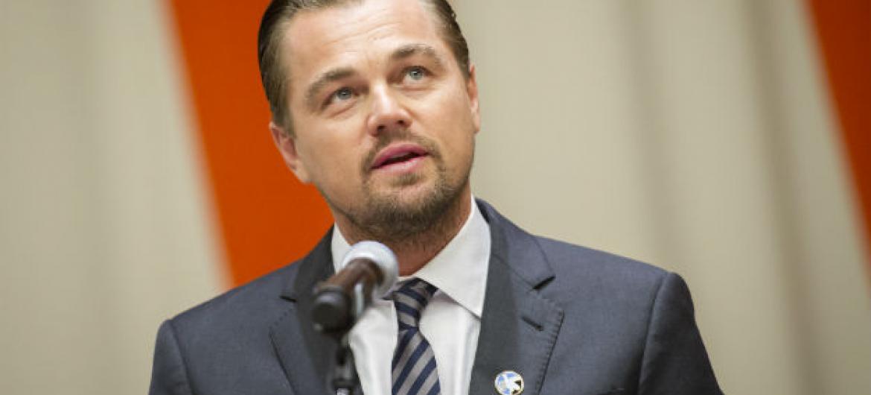 Leonardo DiCaprio. Foto: ONU/Rick Bajornas