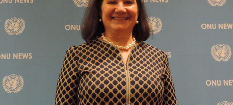 Embaixadora Maria Luiza Ribeiro Viotti, chefe de gabinete de António Guterres. Foto: Eleutério Guevane, ONU News.