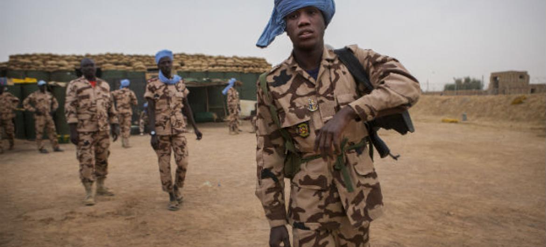 Membros da Minusma, a Missão de Paz da ONU no Mali. Foto: ONU/Sylvain Liechti
