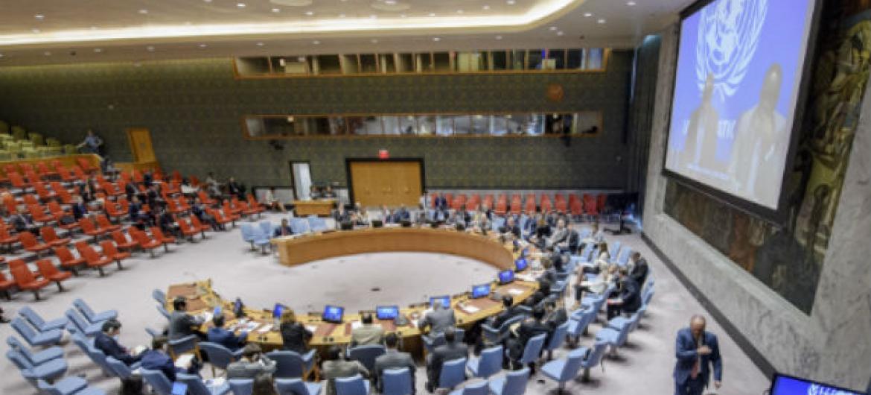Reunião no Conselho de Segurança sobre a Somália. Foto: ONU/Manuel Elias
