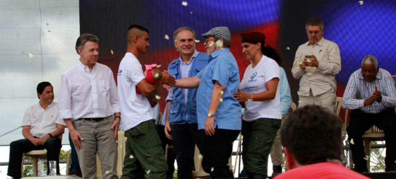 Foto: Missão da ONU na Colômbia