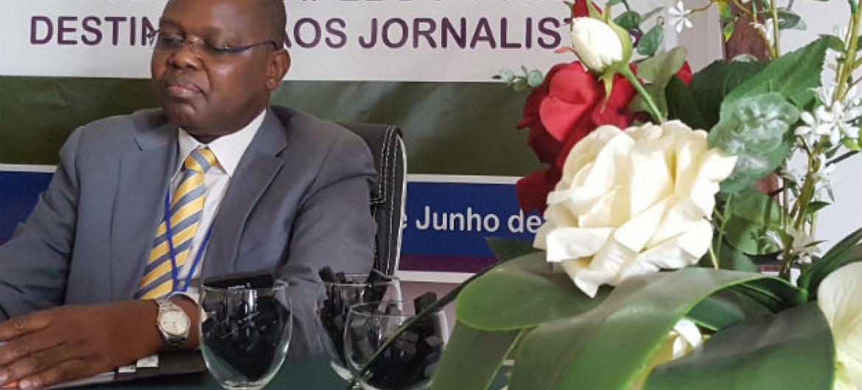 Gabriel Dava. Foto: ONU News/Amatijane Candé, Tgb