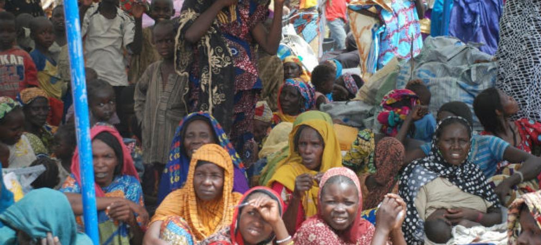 Refugiados nigerianos a retornar dos Camarões. Foto: Acnur/Romain Desclous