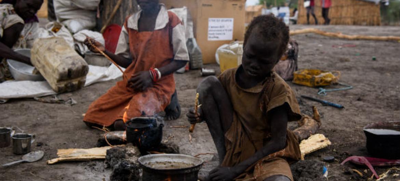 Crianças no Sudão do Sul. Foto: © UNICEF/UN066015/Hatcher-Moore
