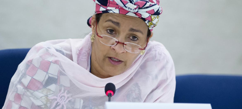 Amina Mohammed. Foto: ONU/Jean-Marc Ferré (arquivo)